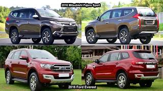 2017 Mitsubishi Pajero Sport VS 2017 Ford Everest ( Endeavour ) SUVs   Auto Comparison