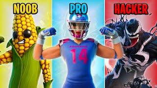 NOOB vs PRO vs HACKER - Fortnite Funny Moments #43