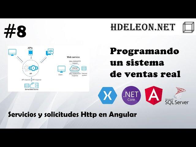 #8 Programando un sistema de ventas real | Servicios y solicitudes Http en Angular