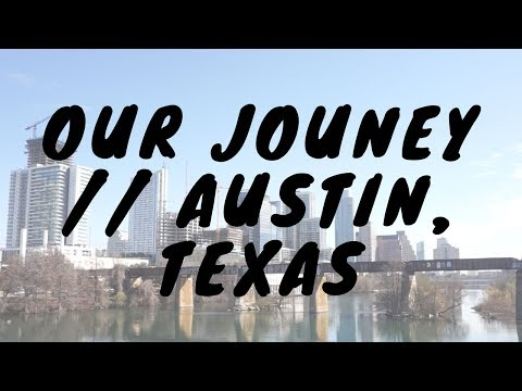 Our Journey // AUSTIN, TEXAS // Cinematic travel video - Shot on Sony a6000