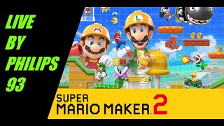 SUPER MARIO MAKER 2 LIVE - ITAENG - (NINTENDO SWITCH) - VIEWER LEVELS - SEND YOUR ID - INVIATE ID