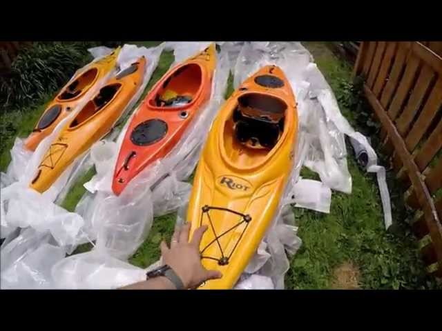 Kayak Review - Riot Quest 9.5 and 10