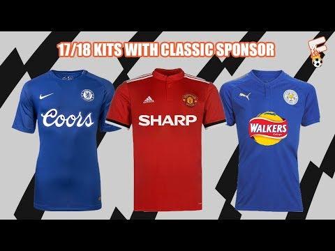 Premier League Kits 2017/2018 With Classic Sponsor - Footchampion