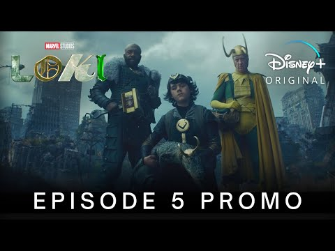 Marvel Studios' LOKI | EPISODE 5 PROMO TRAILER | Disney+