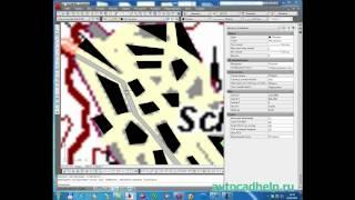 Геодезия в AutoCAD
