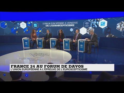 Le Débat à Davos: l'UE à l'épreuve de l'euroscepticisme
