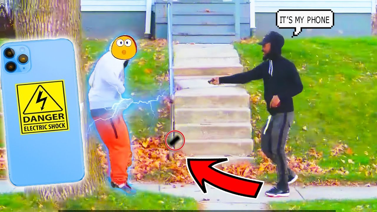 Dropping Electric ⚡️ iPhone 12 PRO MAX In The Hood (Part 2) | Honesty Social EXPERIMENT PRANK!