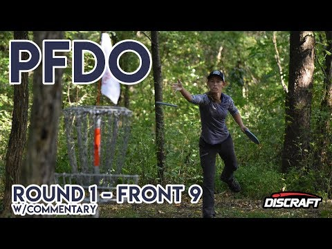 2017 PFDO - Paige Pierce, Sara Lamberson, Sandi Hendel, Catrina Allen - Rnd 1 Front 9