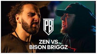 Bison Briggz Vs Zen | Premier Battles | Rap Battle