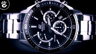 Review Đồng Hồ Casio EFR-552D-1AVUDF