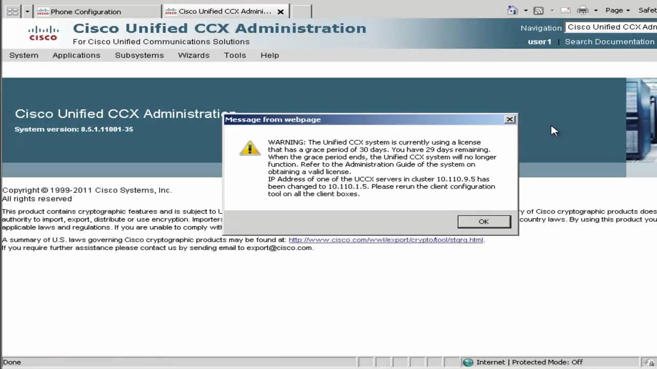 Cisco Business Edition 6000 (BE6K) - Contact Center Express 8 5  Configuration