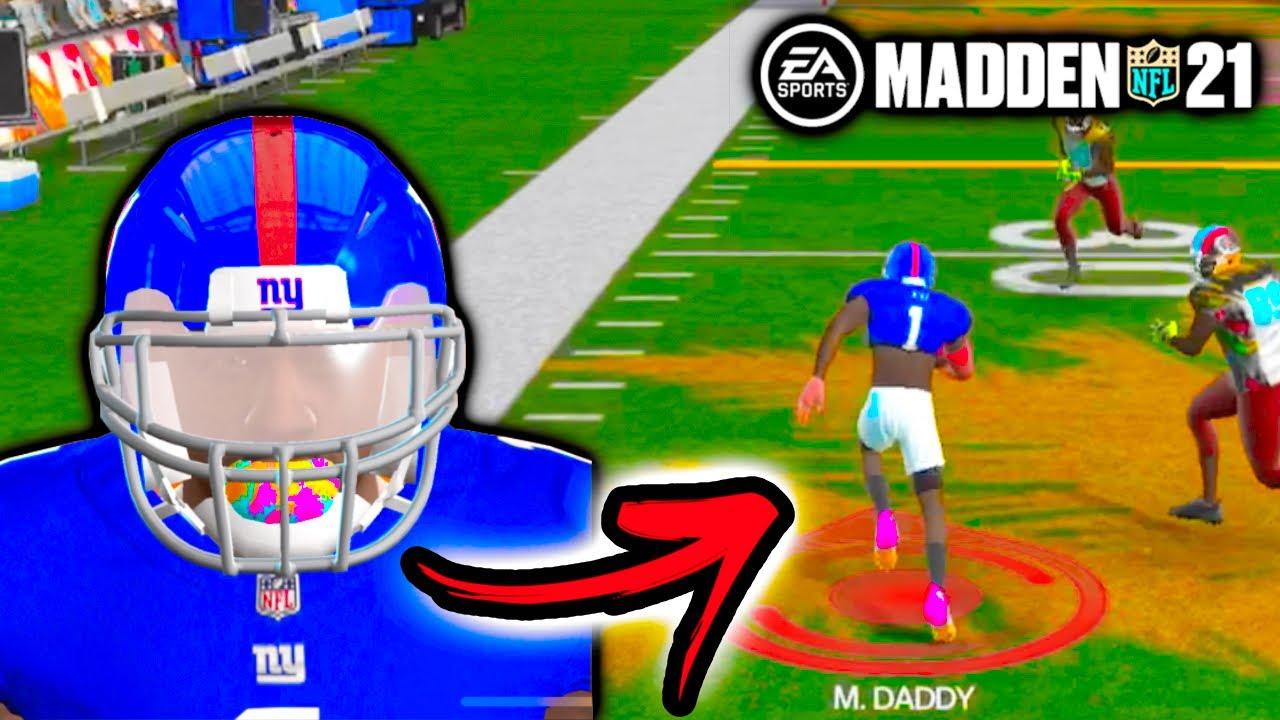 Playing My First Backyard Game!!! Madden 21 The Yard #2