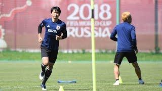 【日本代表活動日記】6/17 柴崎岳「応援を背にピッチで日本代表が躍動している姿を見せたい」 thumbnail
