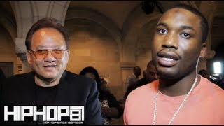 "Meek Mill Talks New Monster Headphones called ""24k"" with Noel Lee & DC3 Intro Addressing Rappers"