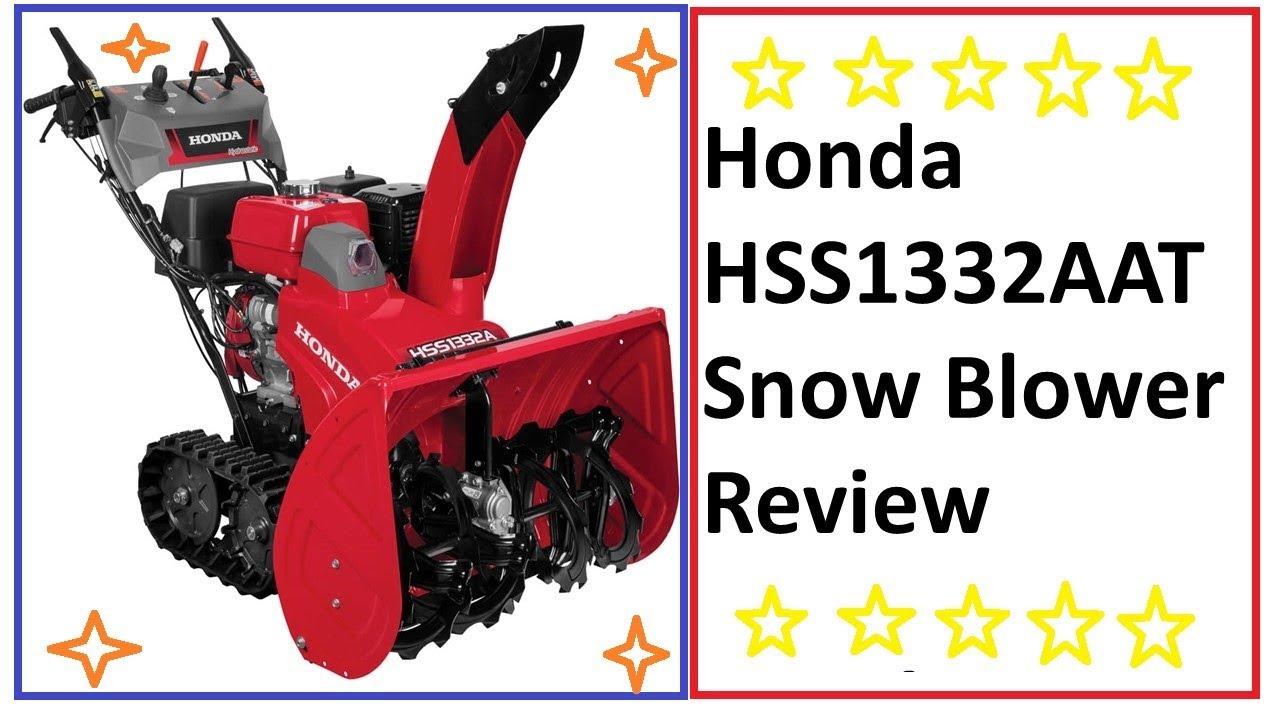 Snow Blowers Reviews >> Honda Hss1332aat Honda Snow Blower Reviews Honda Snowblower For
