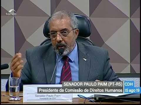 CDH: votações - TV Senado ao vivo - 15/08/2019