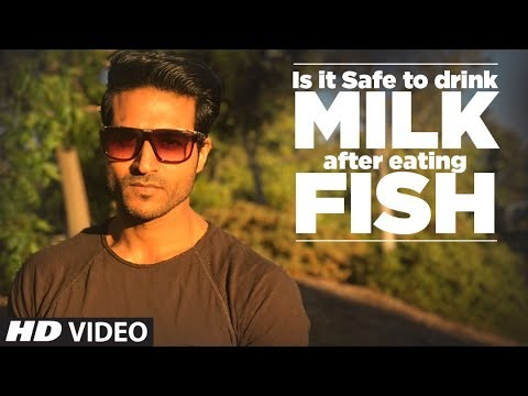 Is It Safe To Drink MILK After Eating FISH | Info by Guru Mann