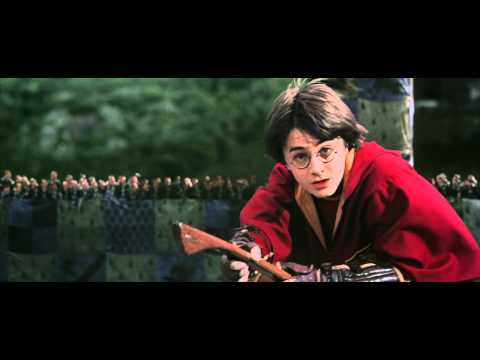 HARRY POTTER AND THE CHAMBER OF SECRETS  Harry Potter gets a rogue bludger during quidditch match