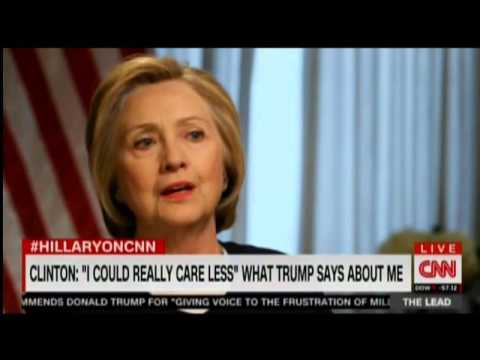 """Clinton talks attack from men who are """"off the reservation"""""""