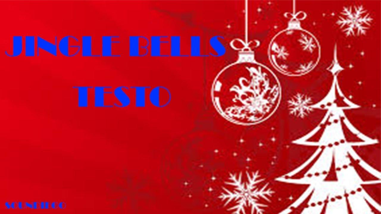 jingle bells testo italiano youtube