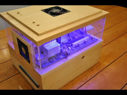 Custom Wooden PC Case