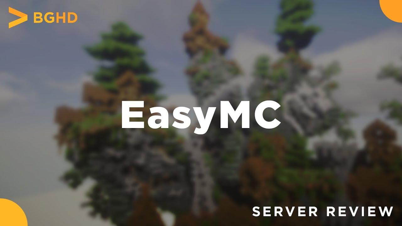 EasyMC - Minecraft Server Review - YouTube