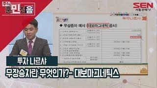 [서울경제TV] 무상증자란 무엇인가?- 대보마그네틱스