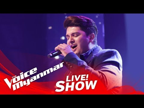 """Mark Jason: """"All Out Of Love"""" - Live Show - The Voice Myanmar 2018"""