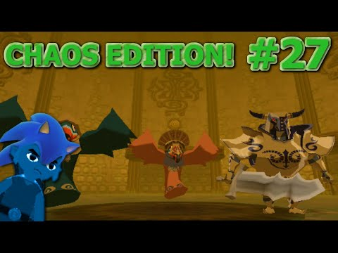 Legend of Zelda Wind Waker Chaos Edition Walkthrough! - Part 27 - FAST!