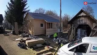 Solidarne kuće za ljude, izgradnja drvene kuće u Glini za samo 2 tjedna!