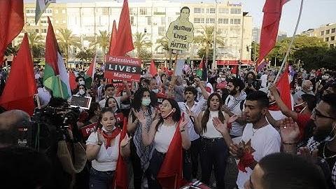A Tel-Aviv, une manifestation contre le plan israélien d'annexer des terres de Cisjordanie