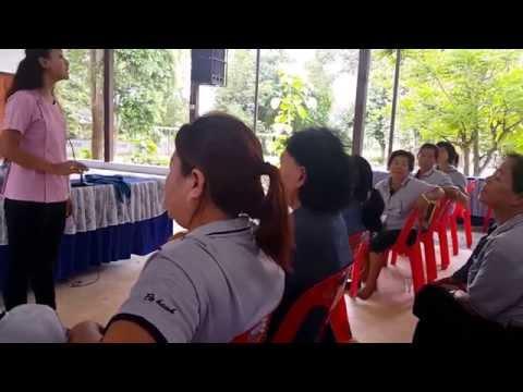 ประชุมอสม ปราณบุรี ตลาดเก่า วันนี้ เรื่องคนพิการ ค