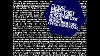 Emptyset feat. Cornelius Harris - Altogether Lost (Chris Liebing Remix)