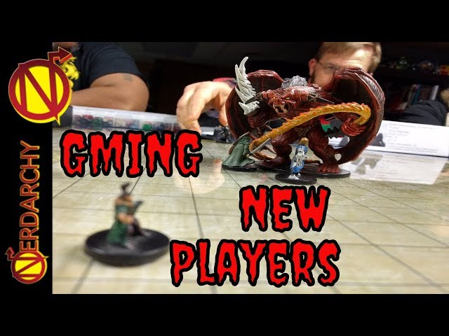 GMing For New D&D Players from the Table of Nerdarchy  DnD Discussions