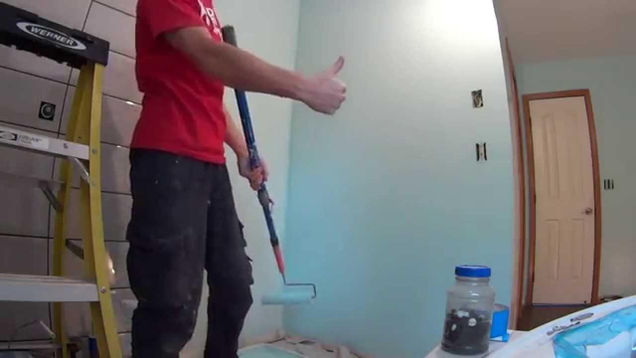 Покраска стен в ванной своими руками фото 325