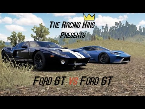 Old Vs New Ford Gt Vs Ford Gt Forza Horizon