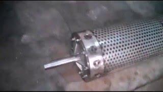 Центрифуга для ковров (ремонт оборваного вала)