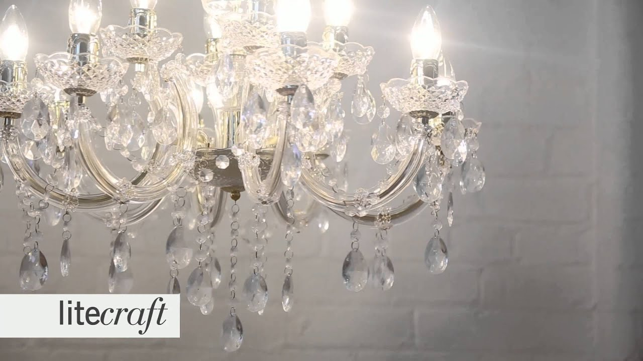 Marie Therese 12 Light Chandelier Gold Litecraft Lighting Your Home