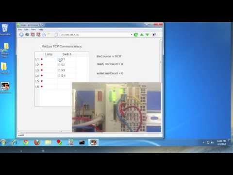 Open Source SCADA - Using PVBrowser with Modbus/TCP Driver - YouTube
