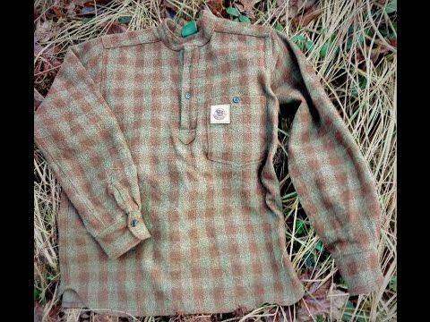 100% vlněný svetr - Bison Bushcraft Guide shirt 100% wool