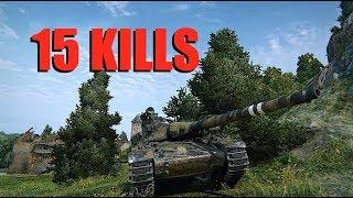 WOT - 15 KILLS   World of Tanks