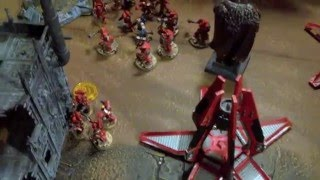 Warhammer 40k 7th Blood Angels vs Black Templars Battle Report and Tactics