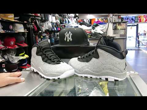 Nike Air Jordan Retro 10 - Cement Grey