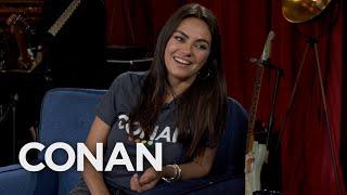 Mila Kunis Full Interview - CONAN on TBS