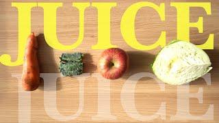 사과 당근 케일 양배추 주스 만들기 (브레빌 주서기) …