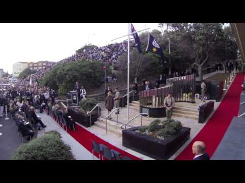 ANZAC Day Dawn Service 2013 North Bondi War Memorial