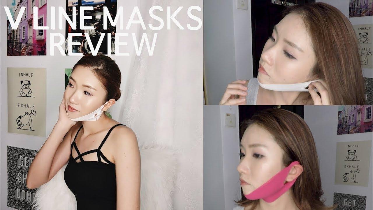 V Line Masks 1 Month Review Giveaway Face Slimming Masks 1 Month Review