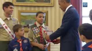 Obama Is A Boy Scout