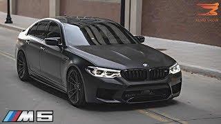 This black BMW F90 M5 stole my soul... *DETROIT AUTO SHOW 2019*