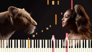 Spirit - Beyoncé (From Disney's The Lion King) | Piano Tutorial (Synthesia)